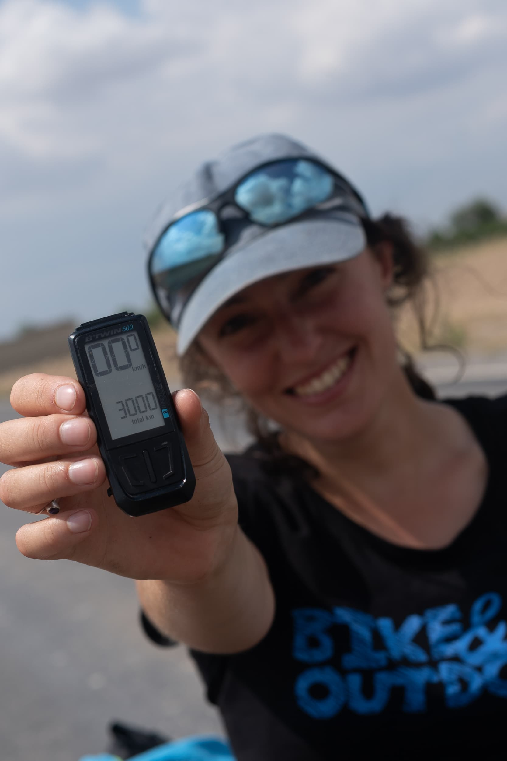 3000km's cycled in turkey