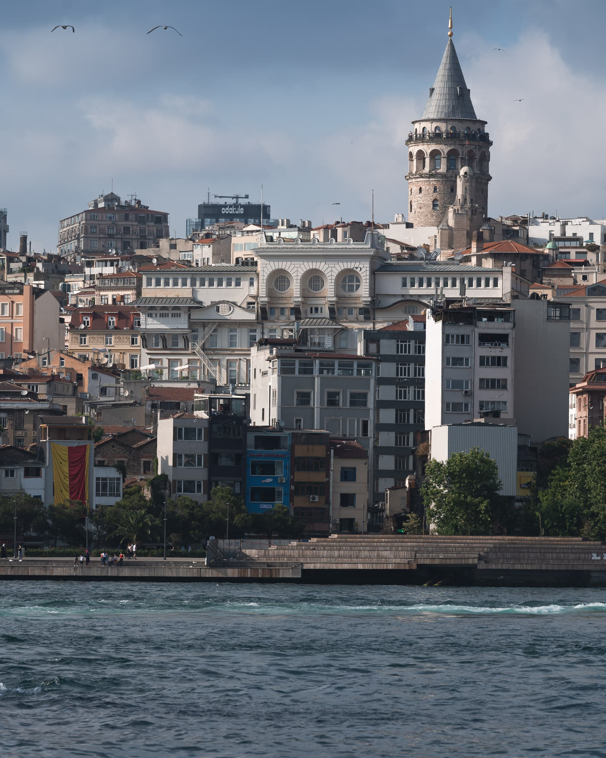 Galata tower and Bosphorus Istanbul
