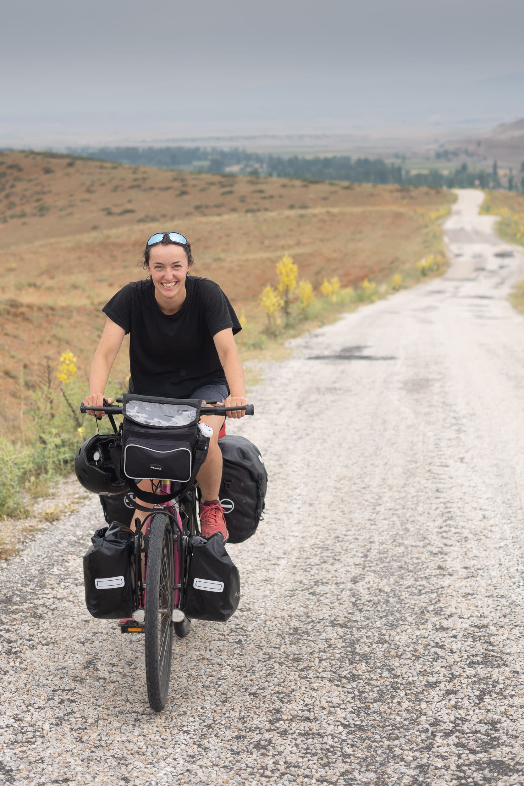 caroline cycle touring turkey