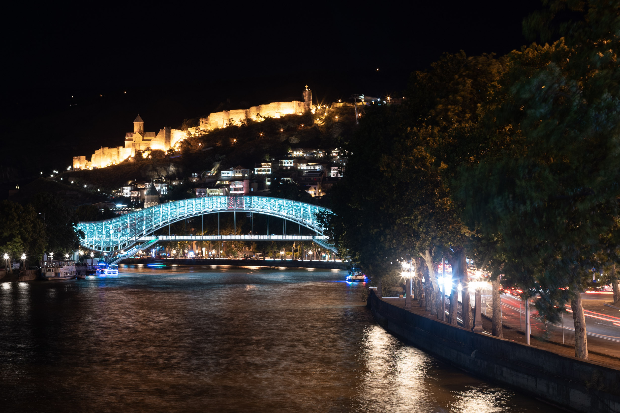 Tbilisi bridge of peace