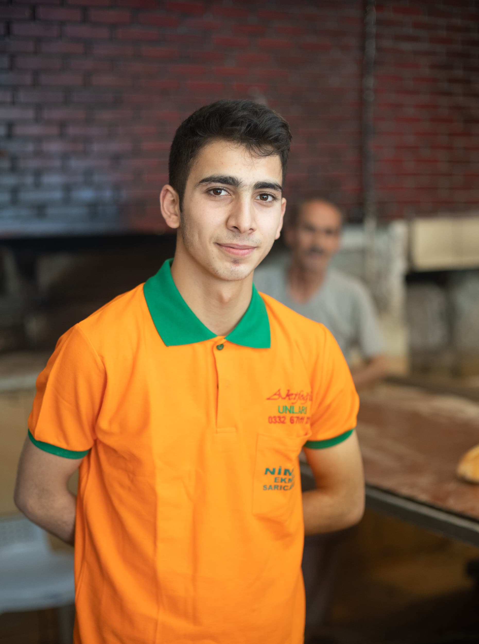Turkish baker portrait