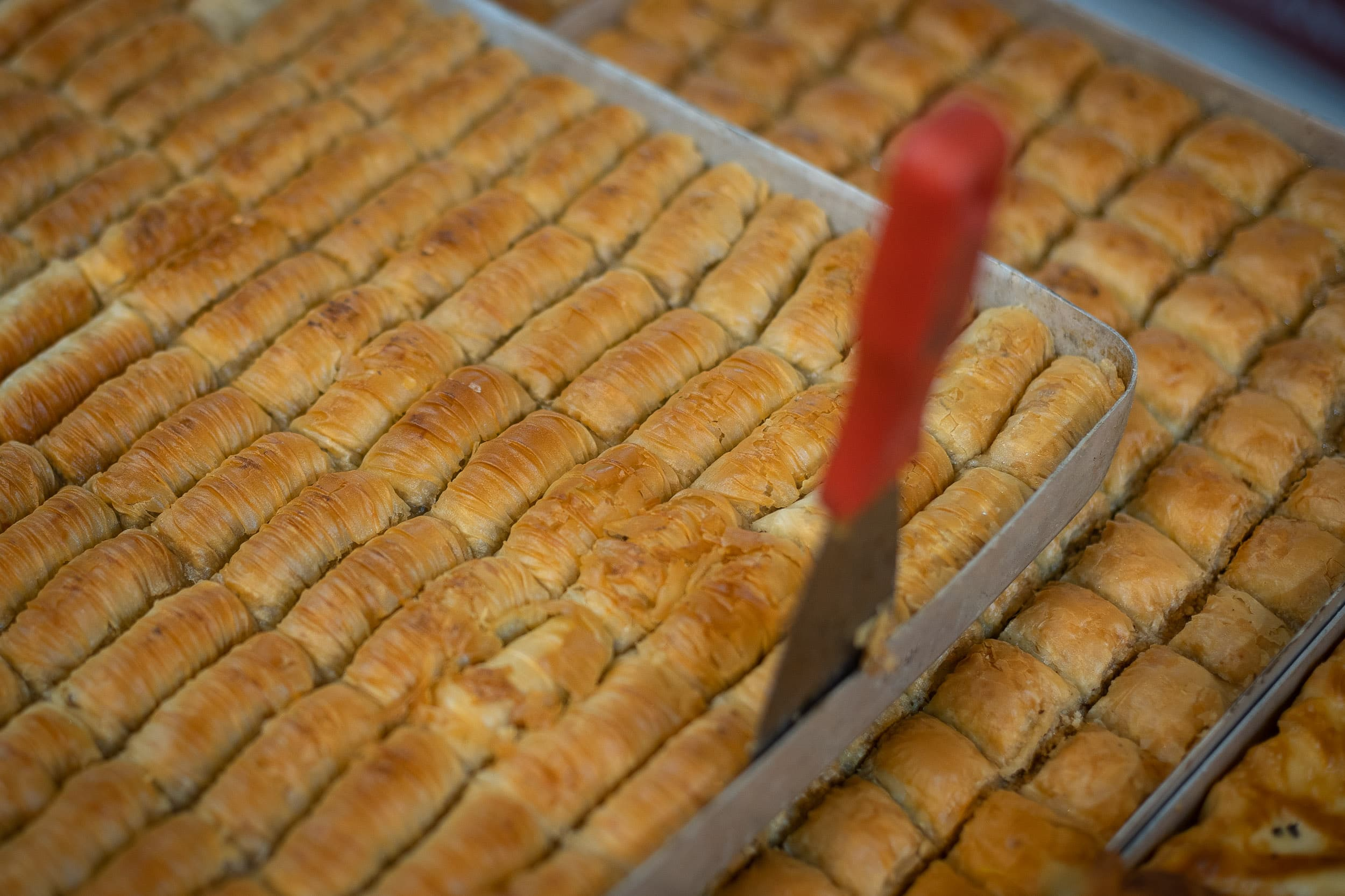 Turkish baklava