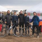 cycle touring in Kazakhstan