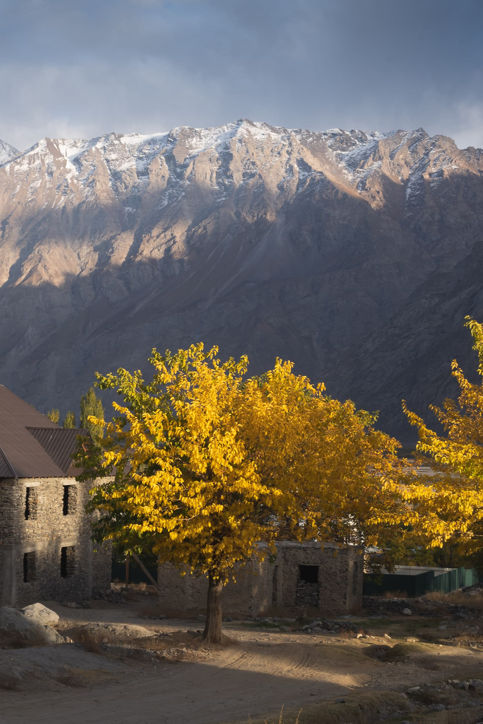 autumn at the Pamir Highway