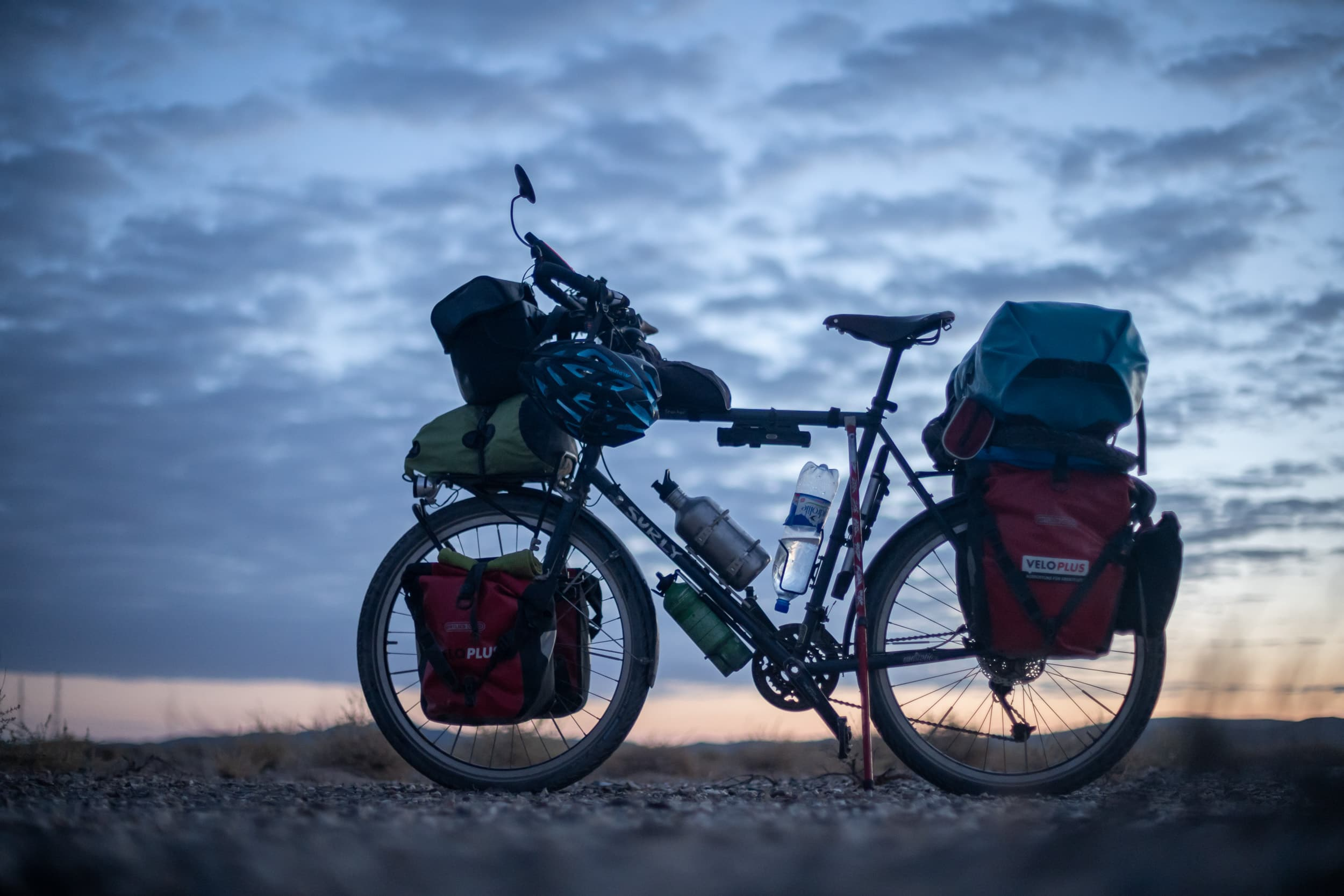 Bicycle touring Uzbekistan