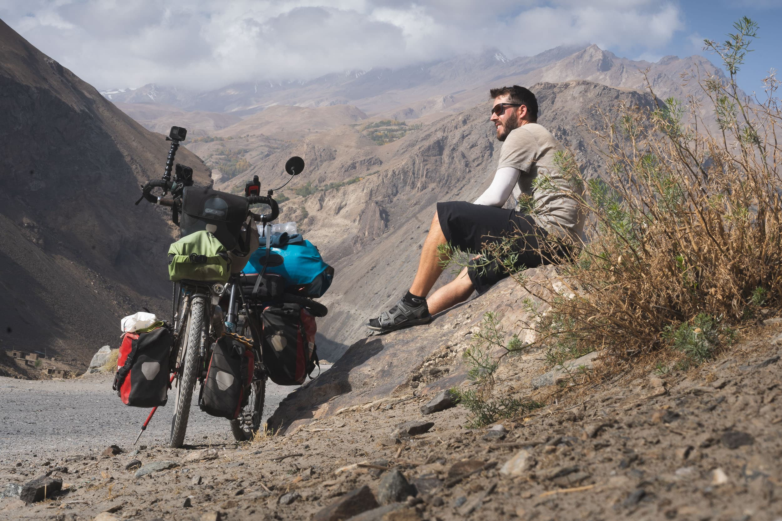 Bicycle touring the Pamir Highway