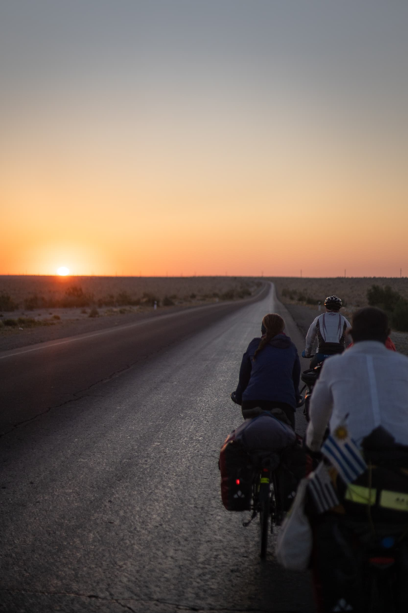 Cycle touring at Sunrise Uzbekistan