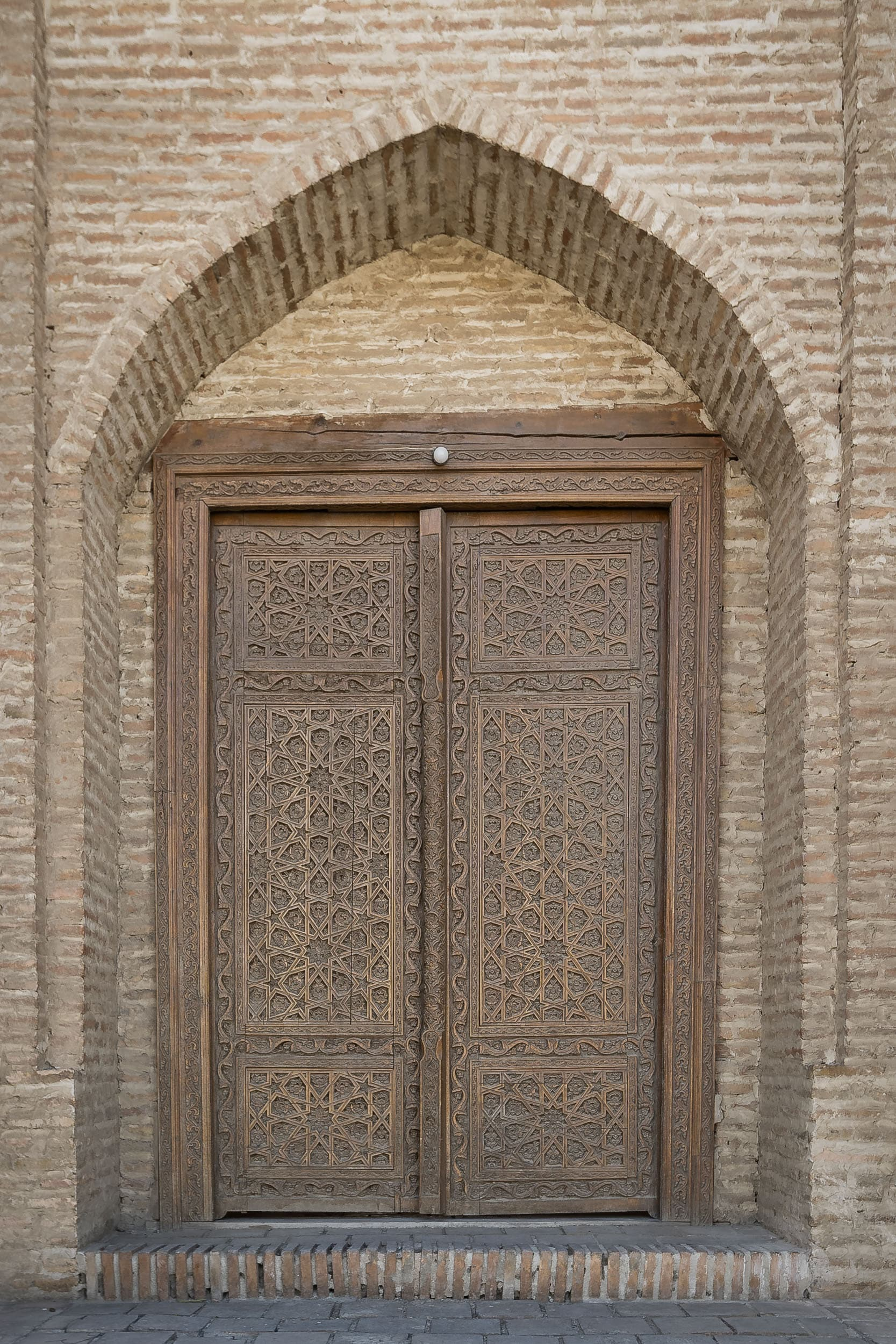Door in Bukhara