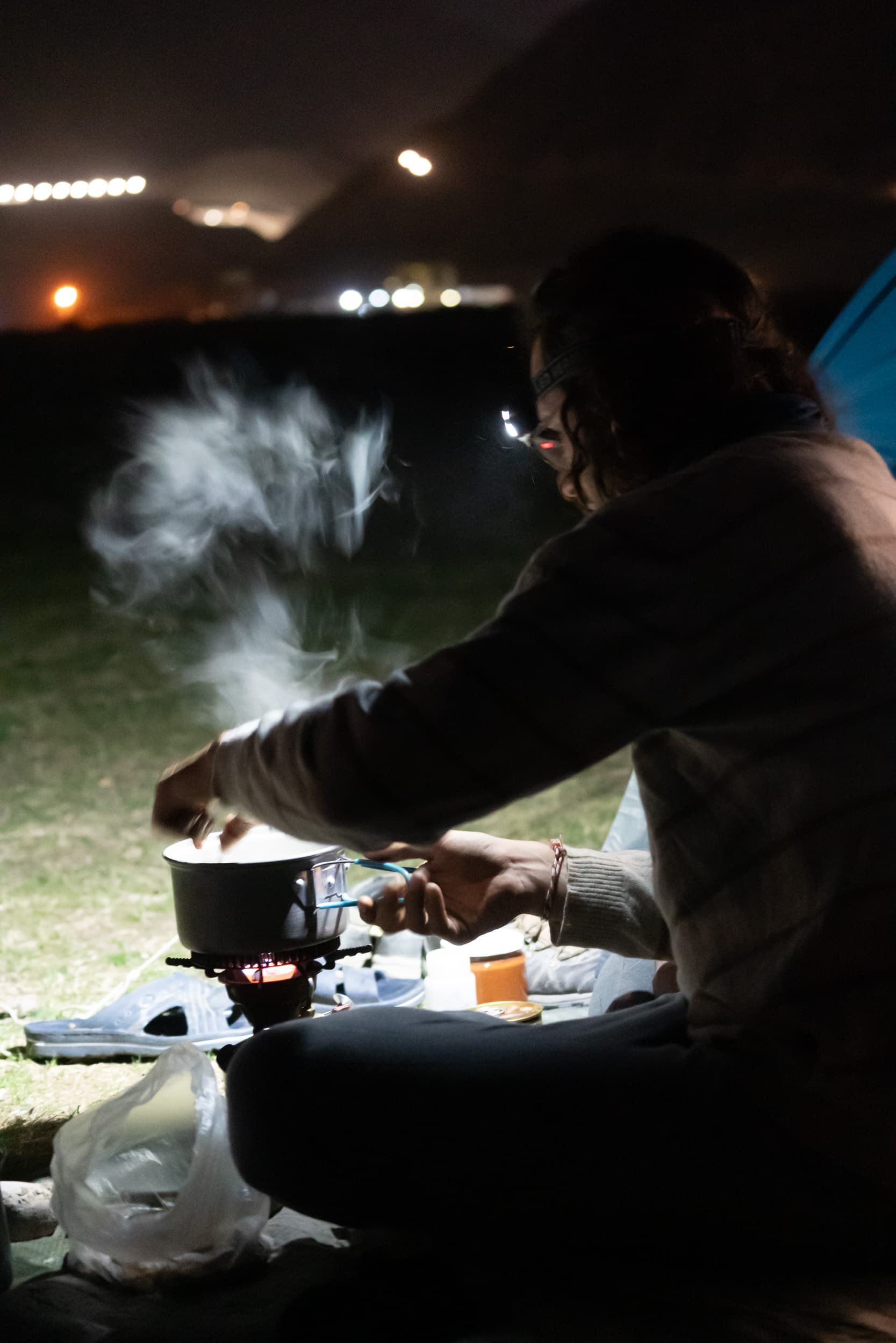 Pamir camping kitchen