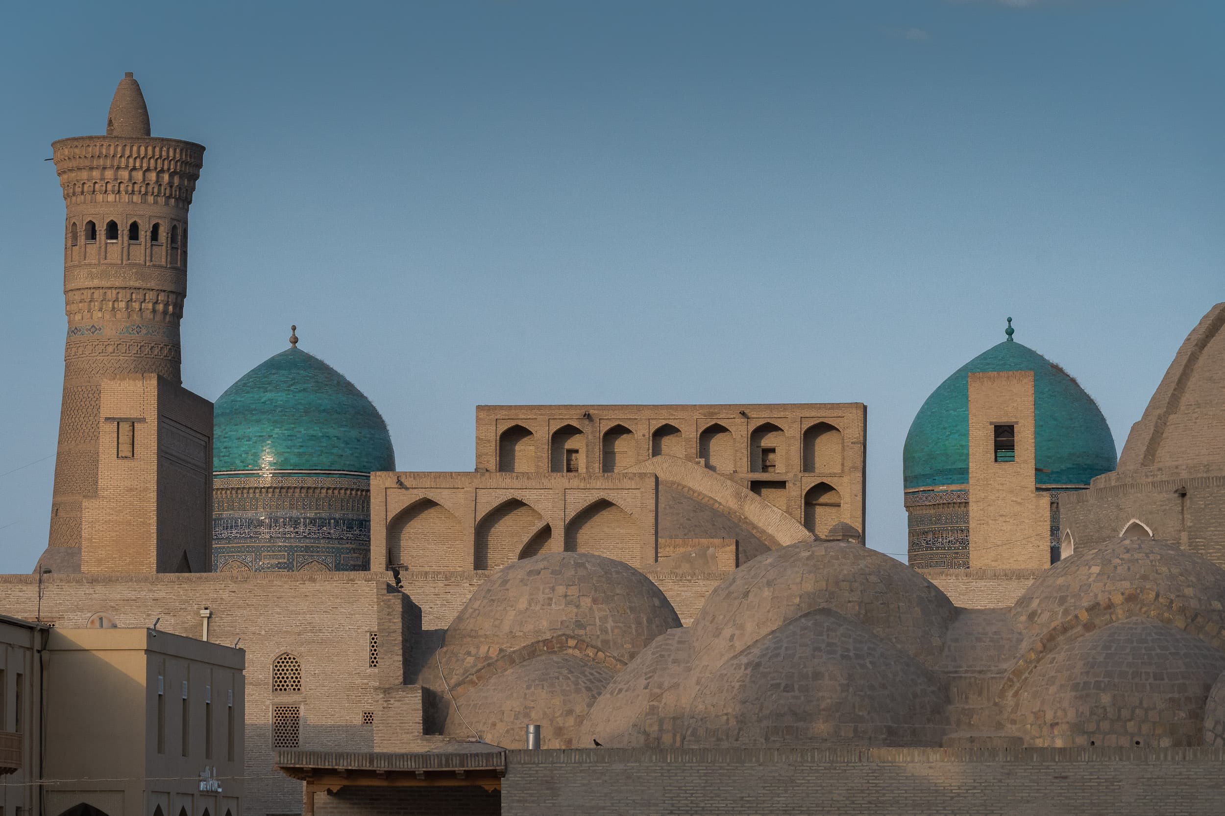 The city of Bukhara