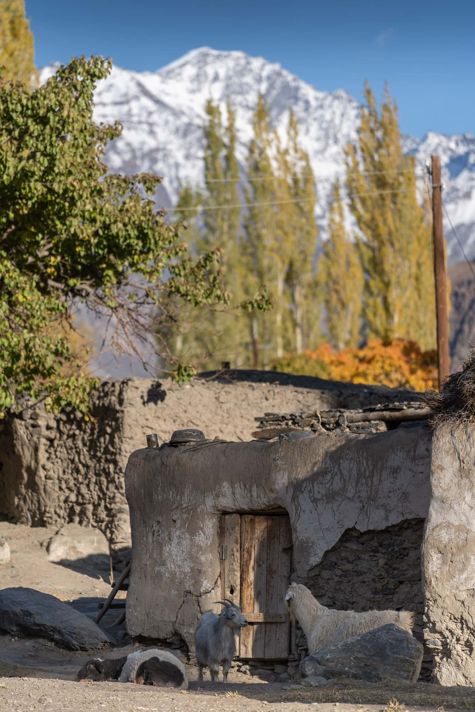 Bartang Valley Village Pamir Highway