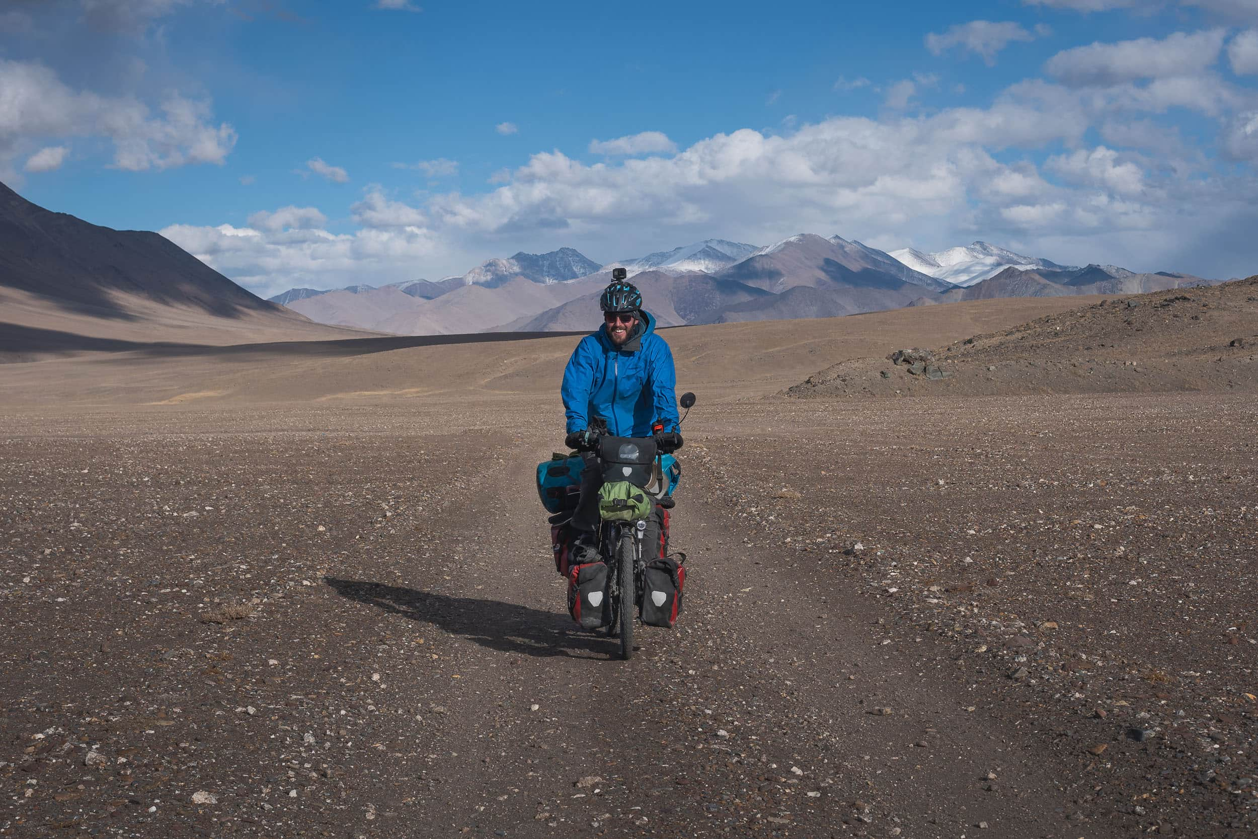 Fabian Kappeler Pamir Highway cycling