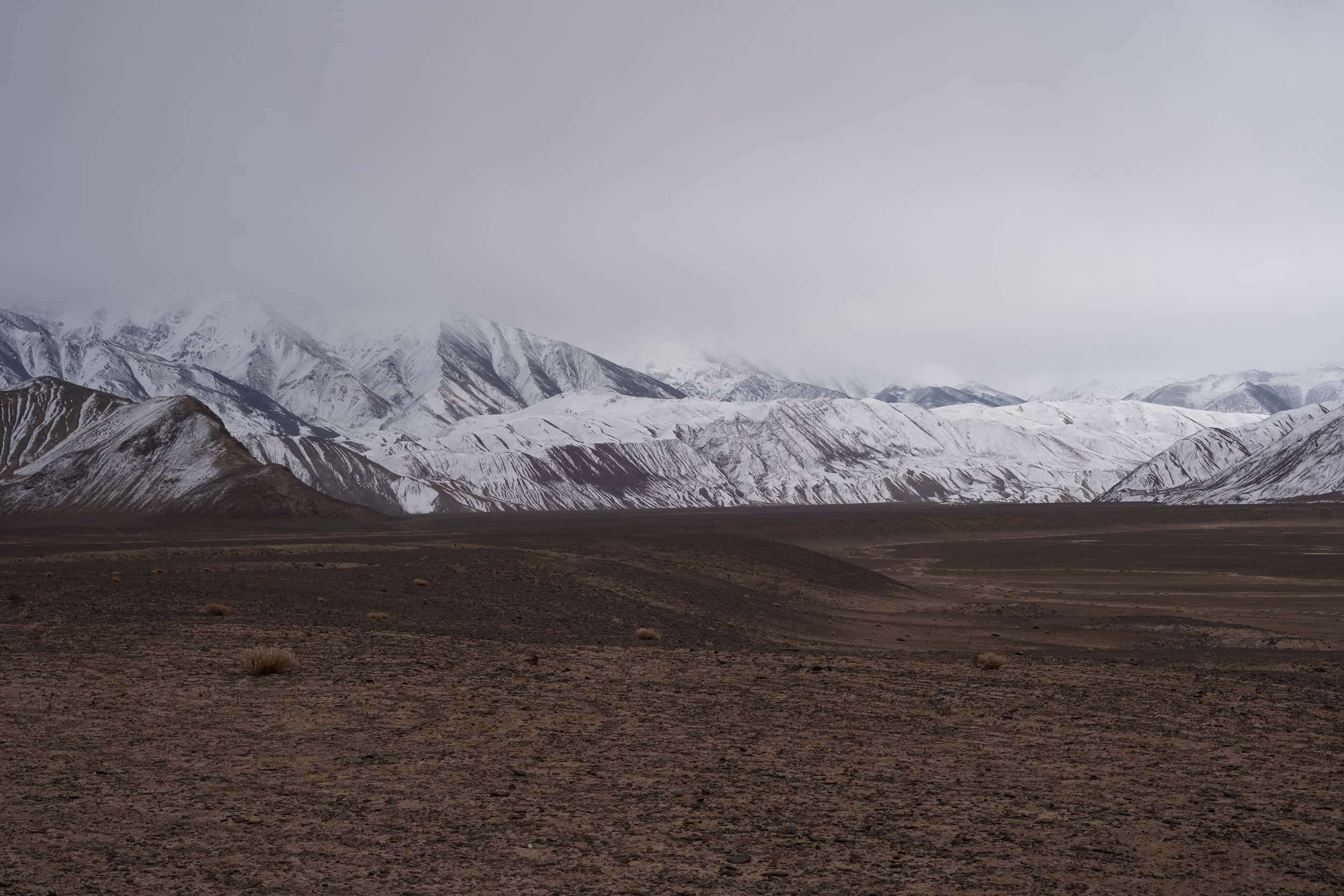 Pamir Plateau Mountains