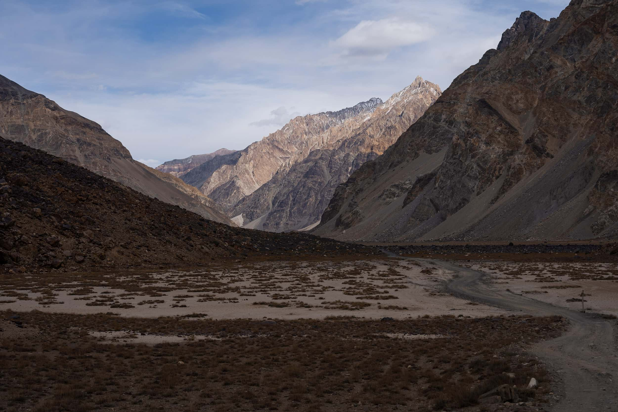 amazing scenery Pamir Highway