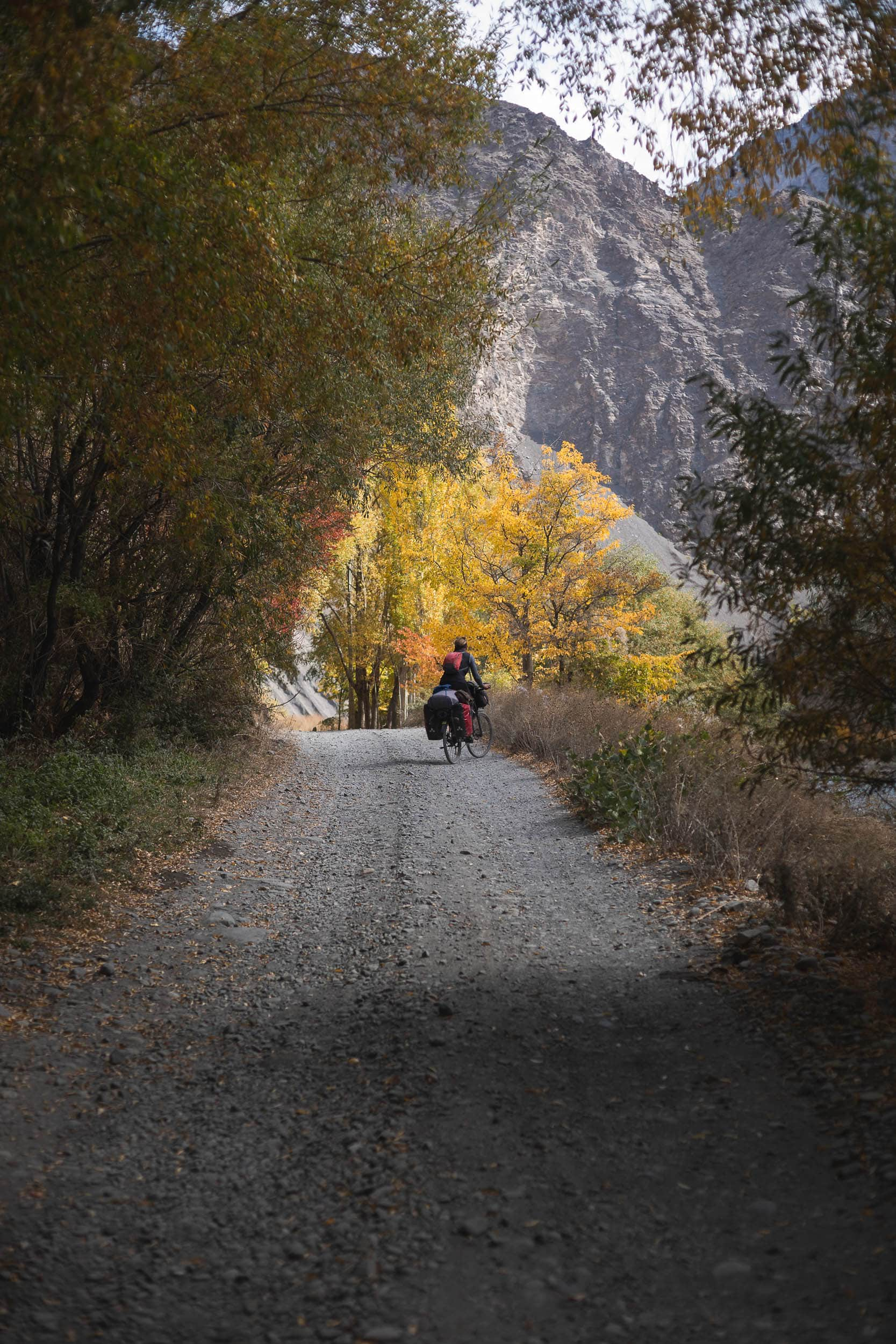 Autumn Bartang valley Tadjikistan