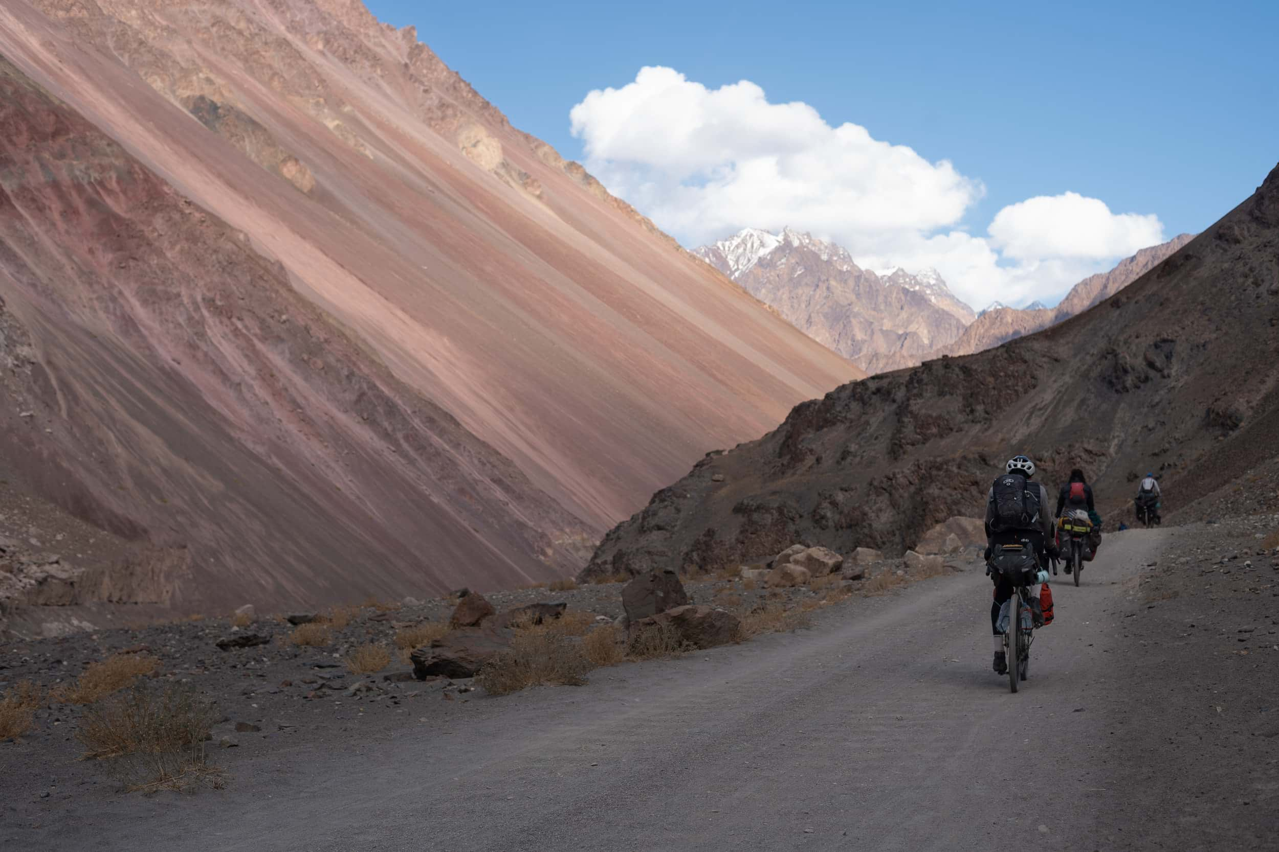 Bicycle touring Tadjikistan