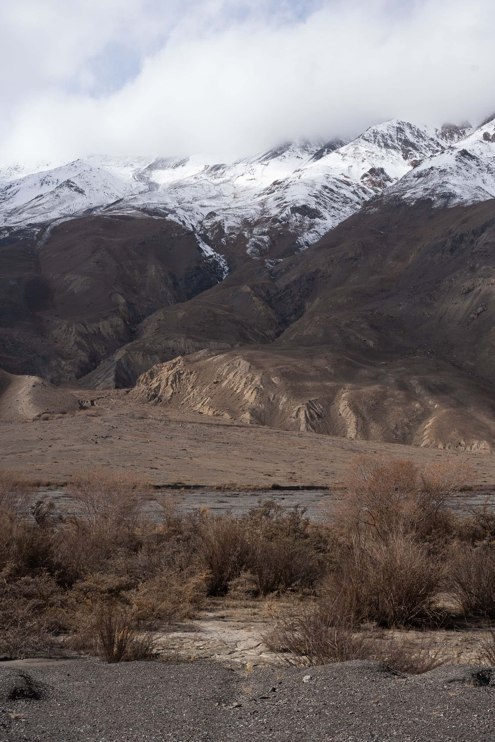 contrasts in the Pamirs