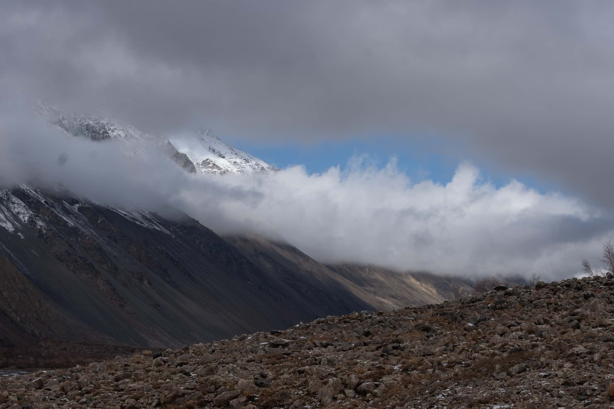 mixed weather Pamir Highway