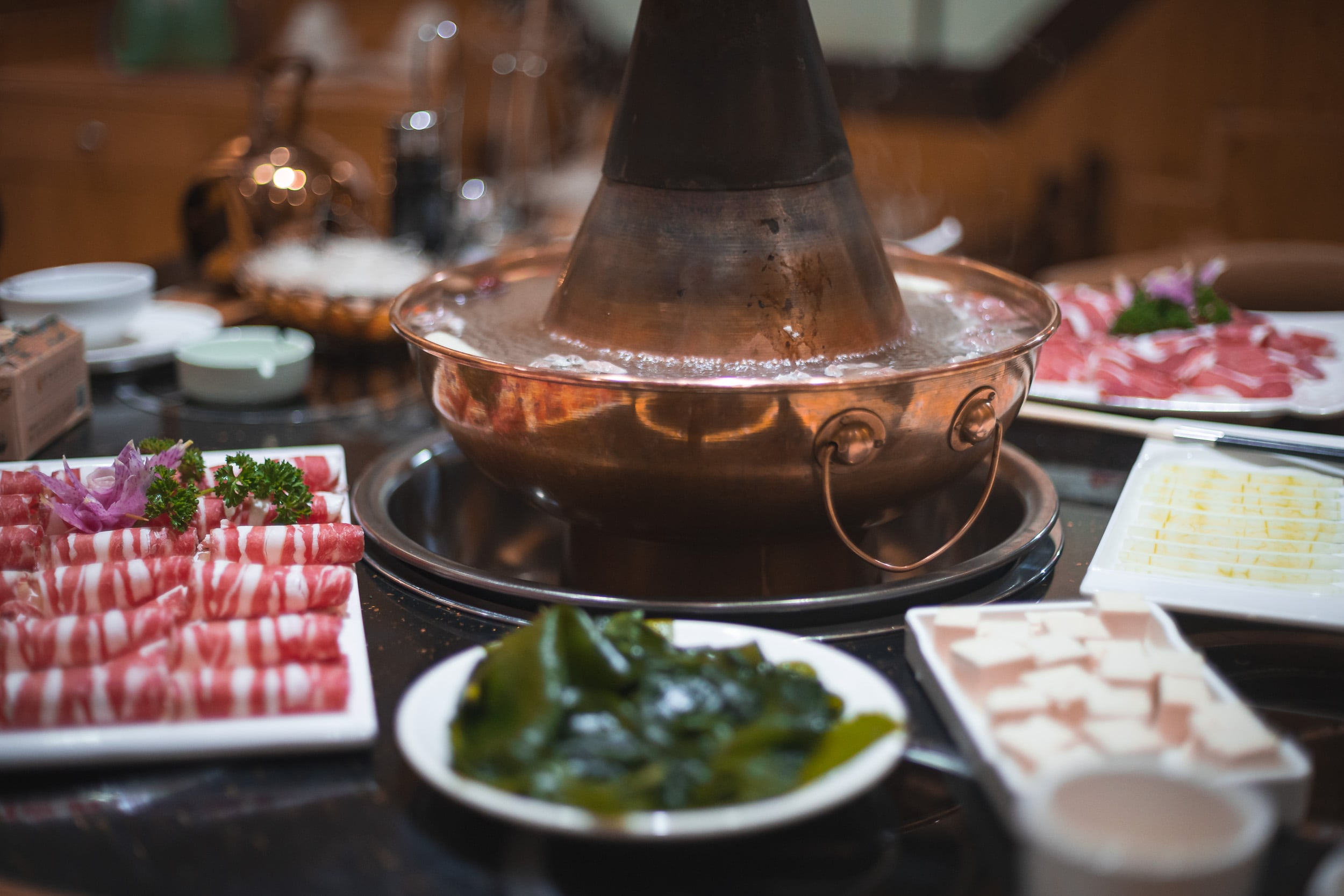 traditional chinese hot pot