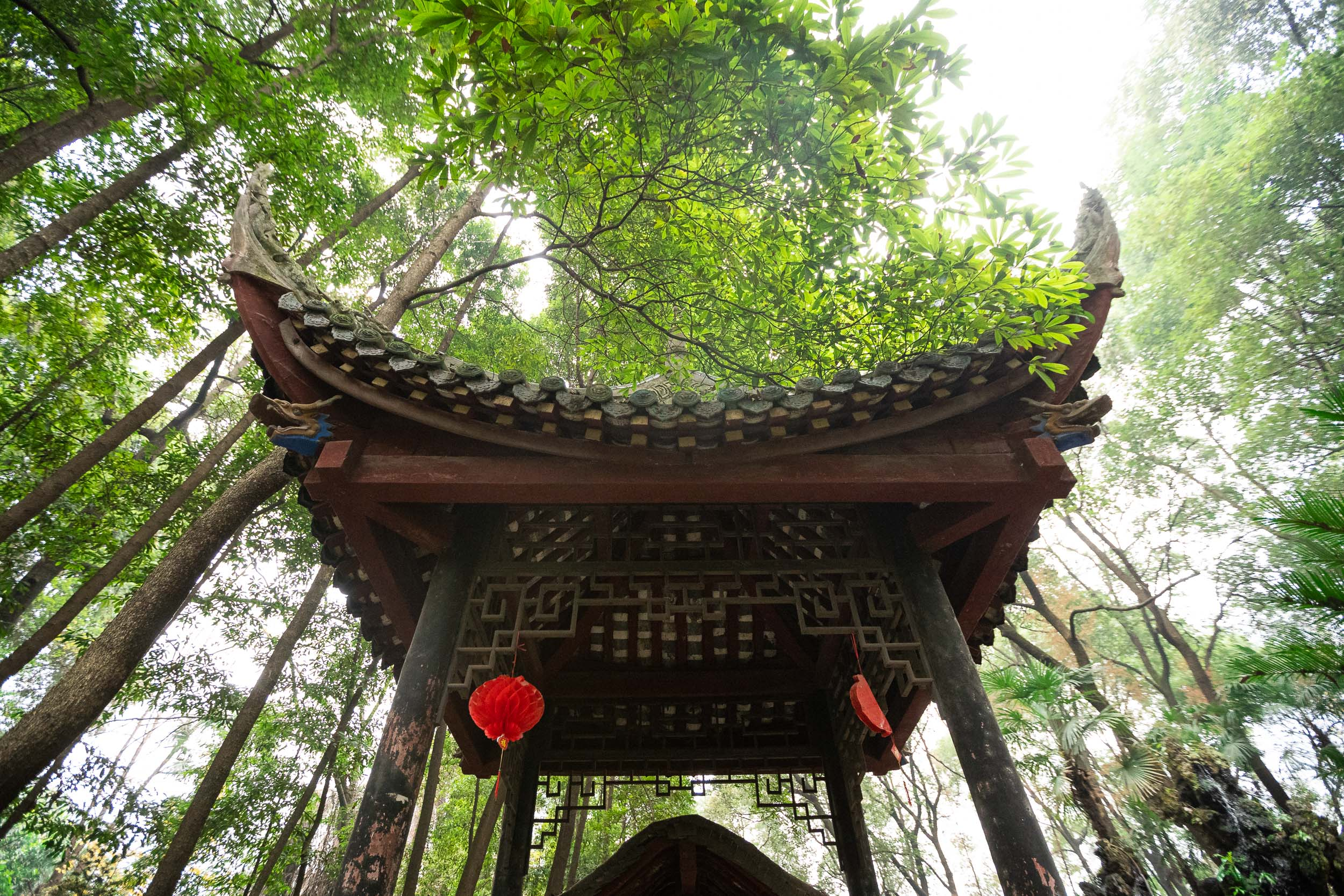 chinese temple garden gate