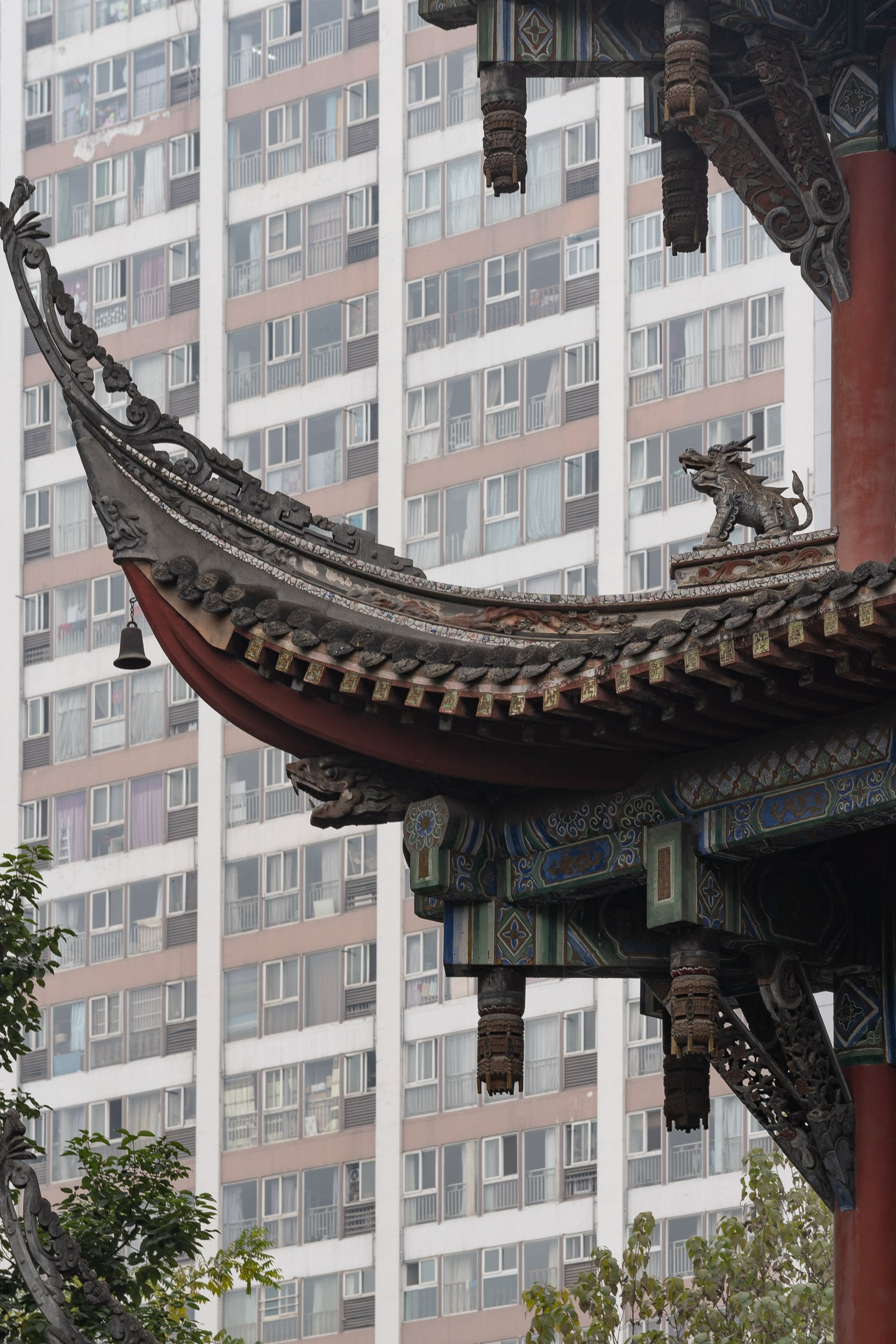 traditional and new chinese architecture